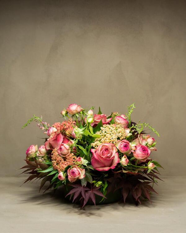 composizione floreale grande michela pozzato