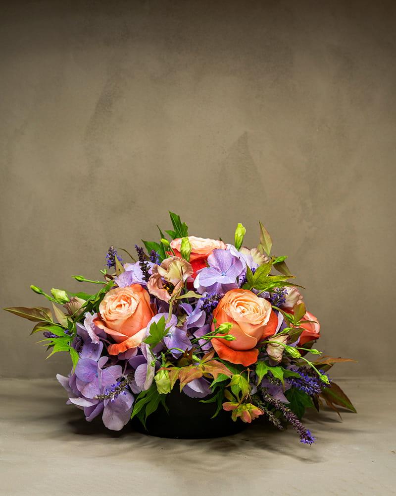 composizione floreale piccola michela pozzato