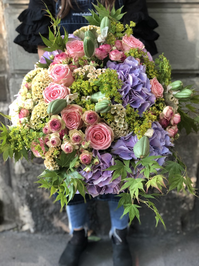 mazzo fiori classico 140 euro shop fiori michela pozzato